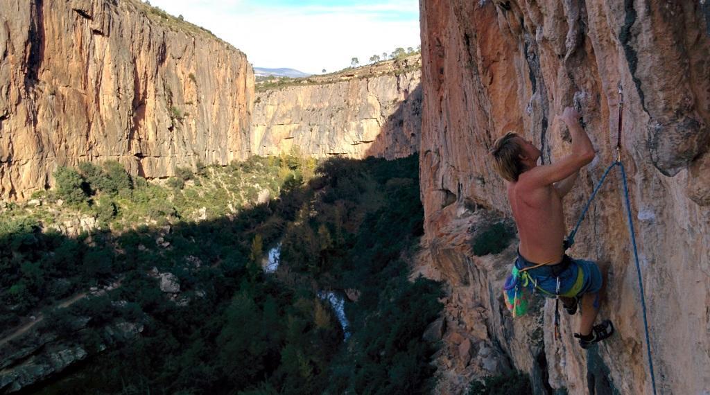 Plezanje plat v Chulilli