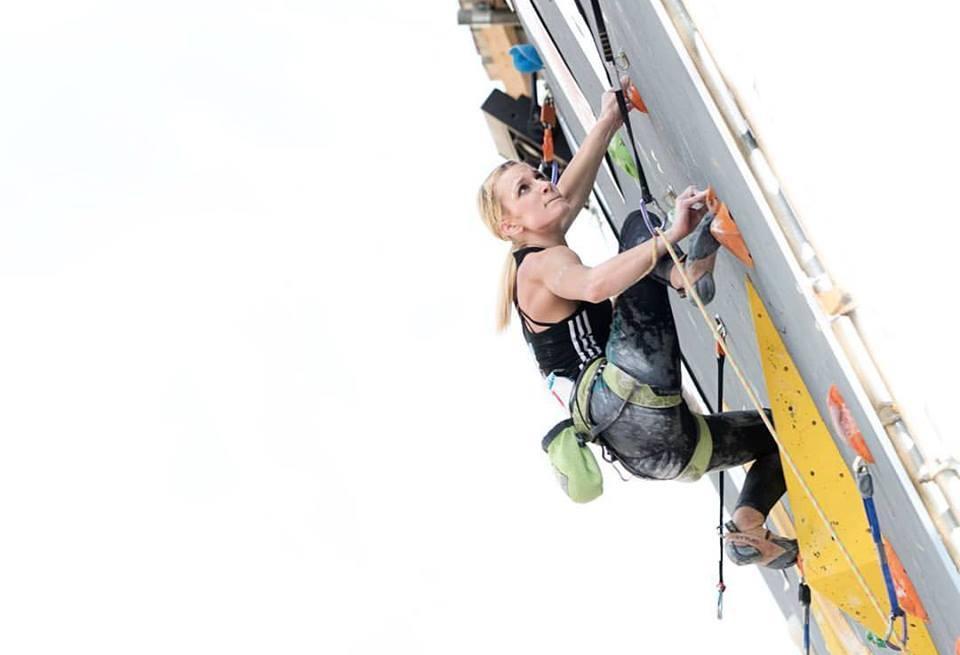 Tjaša Kalan v prvi kvalifikacijski smeri, kjer je dosegla vrh.